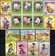 New for 2018 Disney Stamp Selection/ Superb Stocking Filler/ Mickey/ Minnie/ Cartoons (b1470h)