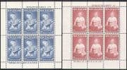 New Zealand 1963 Health Fund  /  Prince Andrew  /  Royalty  /  People 2 x 6v shts (n35389)