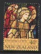 New Zealand 1995 Christmas  /  Stained Glass 40c 1v n20640