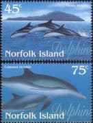 Norfolk Island 1997  Dolphins/ Marine/ Nature/ Wildlife/ Conservation 2v set (b4524)