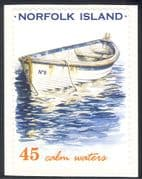 Norfolk Island 2001 Rowing Boat/ Whaleboat/ Nautical/ Transport 1v s/a (s2922a)