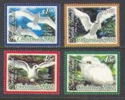 Norfolk Island 2002 Christmas  /  Greetings  /  Tern  /  Birds  /  Gulls  /  Nature 4v set (n21052)