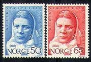 Norway 1968 Nursing  /  Nurse  /  Medical  /  Health 2v set  n29123