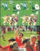 Norway 2002  Norwegian Football Association 100th/ Sports/ Children/ Games/ Soccer 8v s/a bklt (b8624)