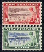 NZ 1948 Health  /  Welfare  /  Children  /  Camps 2v set (n31091)