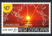 NZ 2000 Millennium  /  Sunrise  /  Sun  /  Map 1v (n31093)
