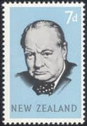 NZ/New Zealand 1965 Sir Winston Churchill/ Military/ WWII/ People/ History 1v (n20284d)