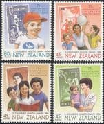 NZ/New Zealand 1994 Children's Health Camps/ S-on-S/ Medical/ Welfare/ Nurse 4v set (b6786a)