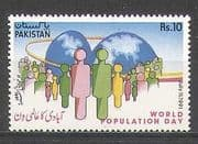 Pakistan 1991 Population Day  /  Family  /  Welfare 1v (n24774)