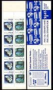 Palau 1983 Shell  /  Fish  /  Marine  /  Nature 10v bklt (n32250)