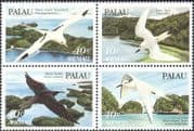 Palau 1984 Terns/ Noddy/ Sea Birds/ Gulls/ Nature/ Conservation/ Wildlife 4v blk (n43978)