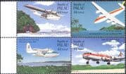 Palau 1985 Planes/ Aircraft/ Aviation/ Transport/ Flying Boats 4v set blk (n43976)