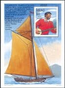 Palau 1997 Ships/ Boats/ Transport/ Ocean Research/Pete Seeger/ People/ Music/ Musicians 1v m/s (b3638)