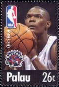 Palau 2004  Chris Bosh/ Basketball/ Sports/ People/ Sportsmen  1v (s1968t)