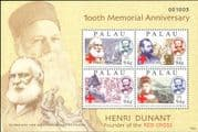 Palau 2010 Henri Dunant/ Red Cross/ Medical/ Health/ Welfare/ People 4v m/s (n46263)