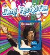 Palau 2016 Jimi Hendrix/ Rock Music/ Guitar/ People/ Musician/ Musical Instruments 1v m/s (n17525a)