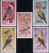 Palestinian Authority/Palestine 1997 Hoopoe/ Falcon/ Oriole/ Birds/ Nature/ StampEx  5v set (b2462a)