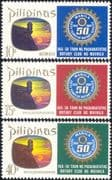 Philippines 1969 Rotary International/ People/ Welfare/ Charities 3v set (b3431c)