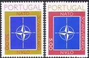 Portugal 1979 NATO 30th Anniversary/ People/ Military Organizations 2v set (n42811)