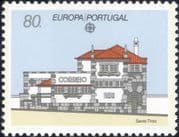 Portugal 1990 Europa/ Post Office Buildings/ Architecture 1v (ex1019)