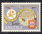 Portuguese Angola 1958 EXPO  /  Exhibition  /  Maps  /  Brussels  /  Animation 1v (n39288)