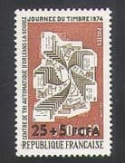 Reunion 1974 Stamp Day  /  Sorting Office  /  Post  /  Mail  /  Animation 1v (n34931)