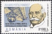 Romania 2000 Graf Zeppelin/ Aviation/ Transport/ Airship/ Balloon/ People 1v (n45970)