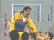 Romania 2001 George (Gheorghe) Hagi/ Footballer/ Football/ Soccer/ Sports imperforate m/s (n20521)