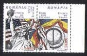 Romania 2002 Statue of Liberty  /  Flags  /  Animated pr n27472