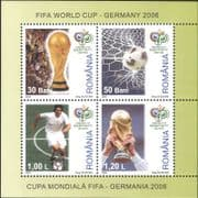 Romania 2006 Football World Cup Championships/ WC/ Soccer/ Sports/ Games  4v m/s (n16032)