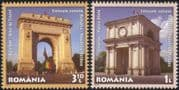 Romania 2011 Diplomacy/ Gates/ Arch/ Buildings/ Architecture/ Sculpture/ Clock Tower 2v set (n44834)