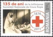 Romania 2011 Red Cross/ Nurses/ Nursing/ Medical/ Health/ Welfare/ People 1v (n44812)