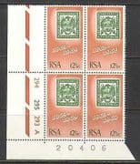 """RSA 1969 Stamp-on-Stamp  /  Post  /  Mail 100th """"A"""" c  /  b n23367"""