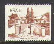 RSA 1982 Buildings  /  Architecture 1 cent Coil 1v (n21751)