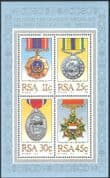 RSA/South Africa 1984 Medals/ Honours/ Military Decorations/ Soldiers 4v m/s (n43238)