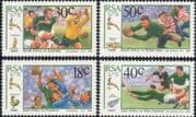 RSA / South Africa  1989 South African Rugby Board 100th/ Sports/ Games  4v set (n19262)