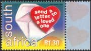 RSA/South Africa 2000 World Post Day/ LOVE/ Heart/ Envelope/ Animation 1v (n16875a)