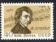 Russia 1960 Chopin  /  Music  /  Composers  /  People  /  Entertainment 1v (n33199)