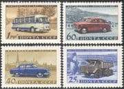 Russia 1960 Transport/ Cars/ Bus/ Motor Coach/ Truck/ Lorry/ Motoring Industry 4v set (n33200)