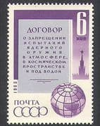 Russia 1963 Nuclear Weapons  /  Arms Treaty  /  Military  /  Politics  /  Peace 1v (n37718)