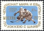 Russia 1973 Ice Hockey World Championships/ Sports/ Games/ Animation 1v (n44215)