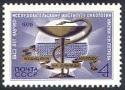 Russia 1976 Cancer/ Medical/ Health/ Welfare/ Snake/ Hospital/ Buildings 1v (n33852)