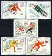 Russia 1976 Winter Olympics  /  Sports  /  Ice Hockey 5v n30646