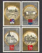 Russia 1978 Olympics  /  Tourism  /  Buildings 4v set (n23983)