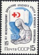 Russia 1988 Red Cross 125th Anniversary/ Medical/ Health/ Nurse/ Welfare 1v (n28804)