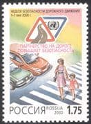 Russia 2000 Road Safety Campaign/ Cars/ Motors/ Transport/ Welfare 1v (n26785)