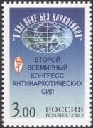 Russia 2003 Drugs Conference/ Medical/ Health/ Welfare/ Map 1v (n28930)