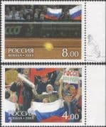 Russia 2003 Tennis/ Sport/ Games/ Davis Cup Winners 2v set (n32136)