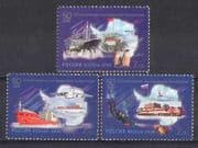 Russia 2006 Ship  /  Plane  /  Penguins  /  Antarctic 3v set n26772