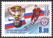Russia 2008 Ice Hockey /Sports/ Games/ World Champions/Animation 1v (n42421)